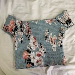 PacSun stretchy crop too